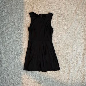 Forever 21 Black Stretchy Skater Dress Size Small